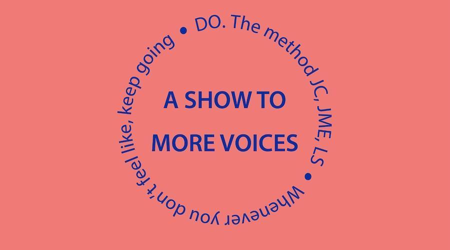 Uma exposição a mais vozes