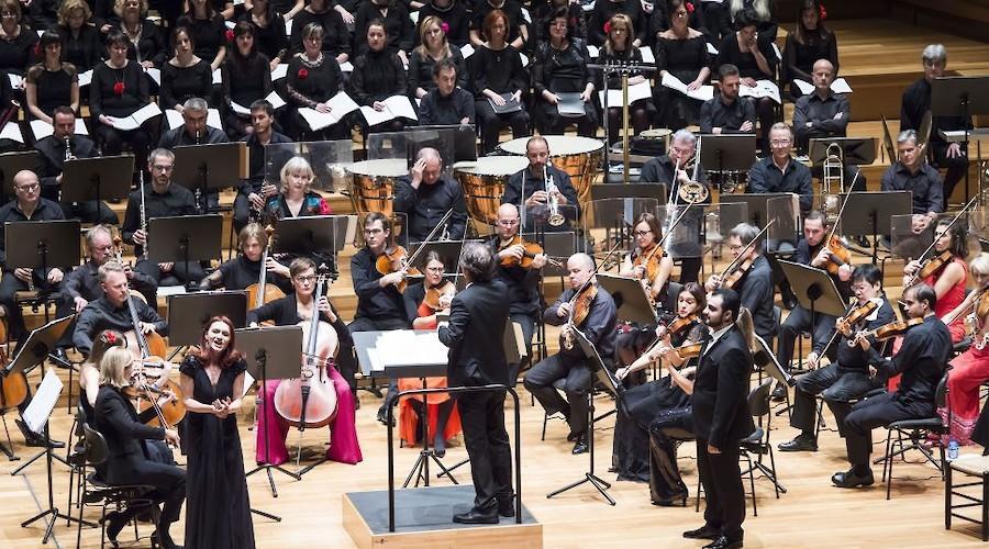 A Orquesta Sinfónica de Castilla y León em Torres Vedras