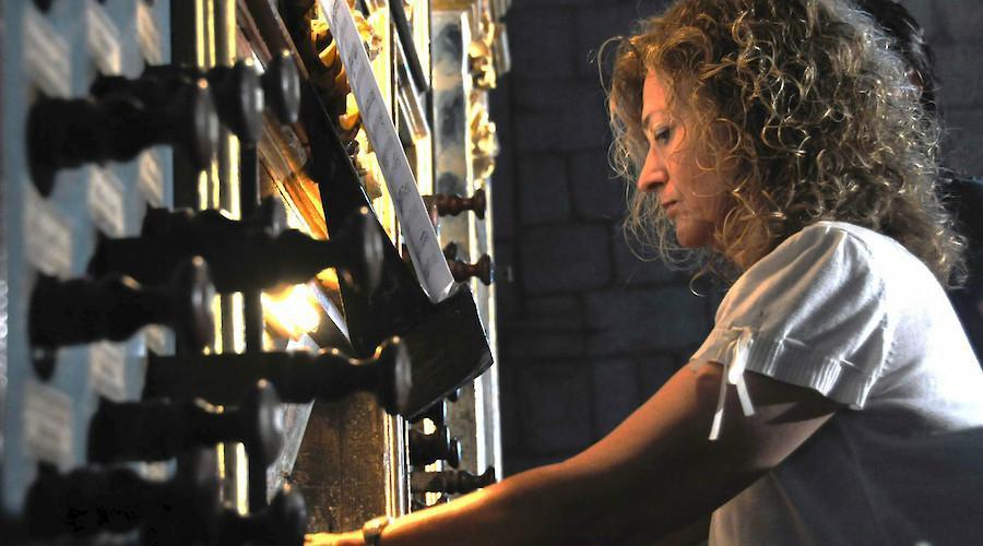 Saskia Roures Navarro e Marisol Mendive no Festival de Órgão de Braga