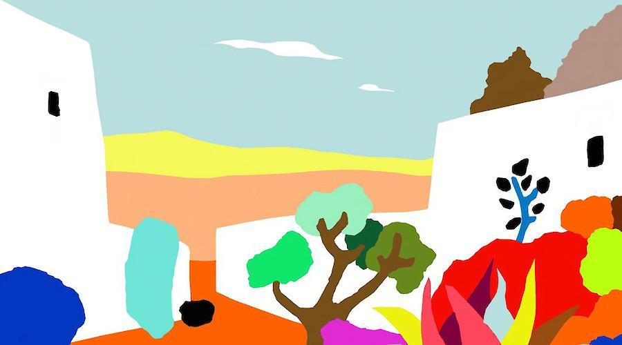 Paisagem sonhadas de Alejos Lorenzo