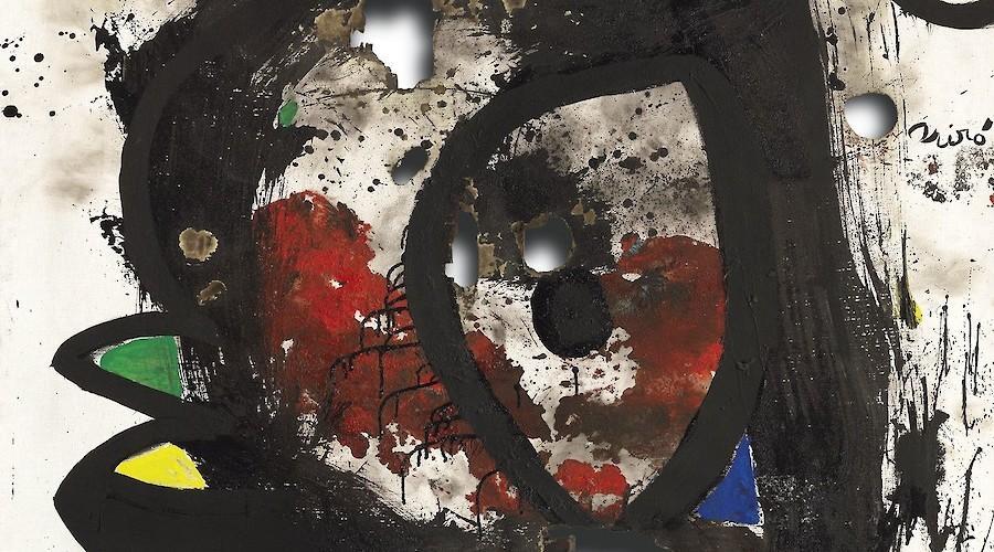 Joan Miro e a morte da pintura
