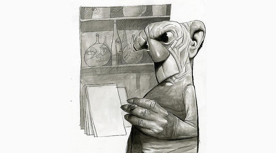 Picasso na Caricatura Internacional