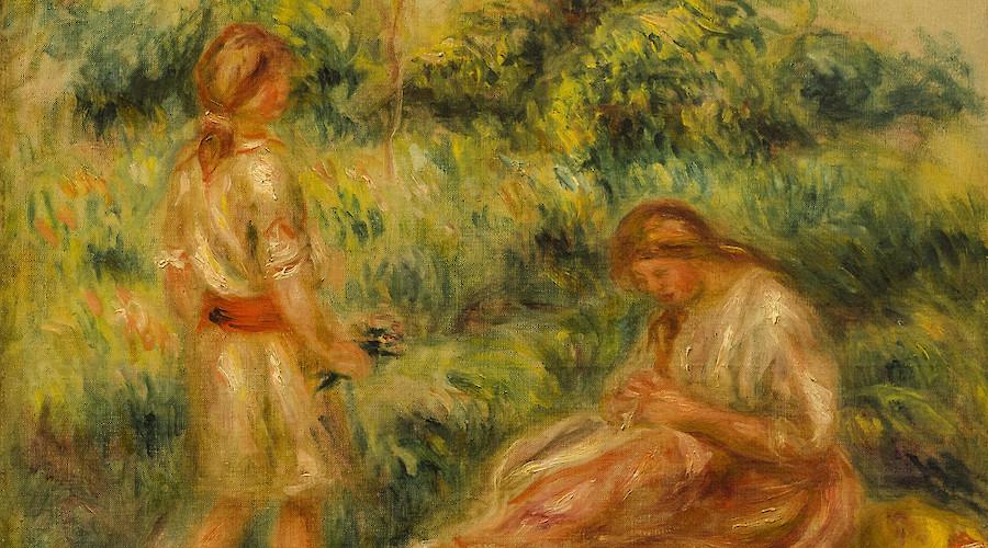 Mulheres. Entre Renoir e Amadeo