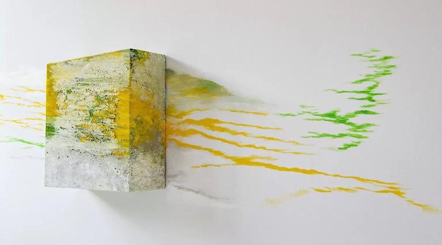 Expandidas paisagens abstratas tridimensionais de Alberto Reguera